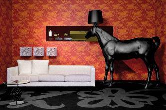 Лампа лошадь. Животная вещь от Moooi