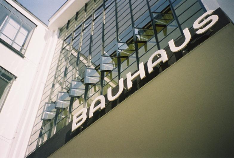 Bauhaus истоирия школы