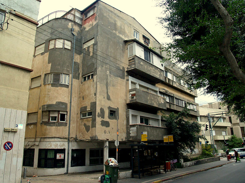 Белый город Тель-Авив и Bauhaus
