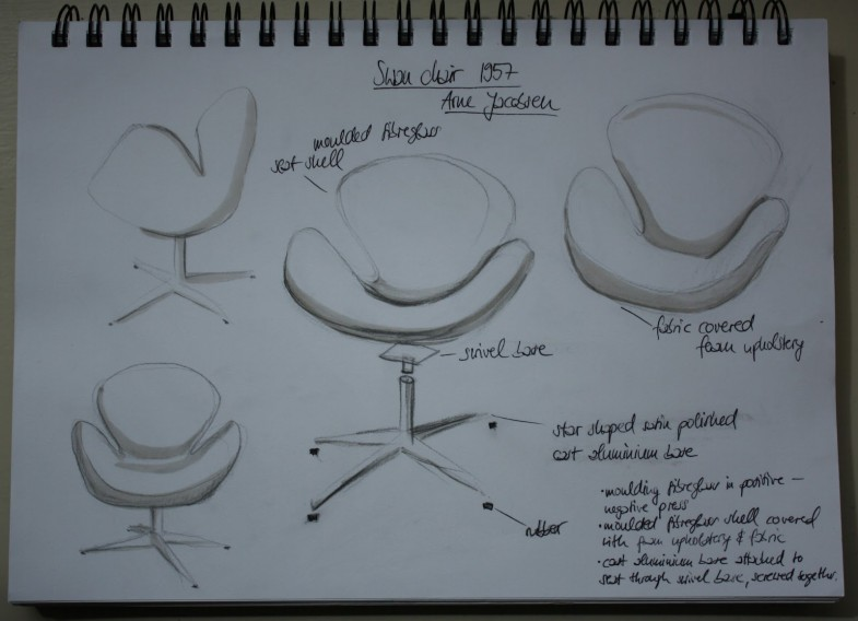 Swan chair_Arne Jacobsen