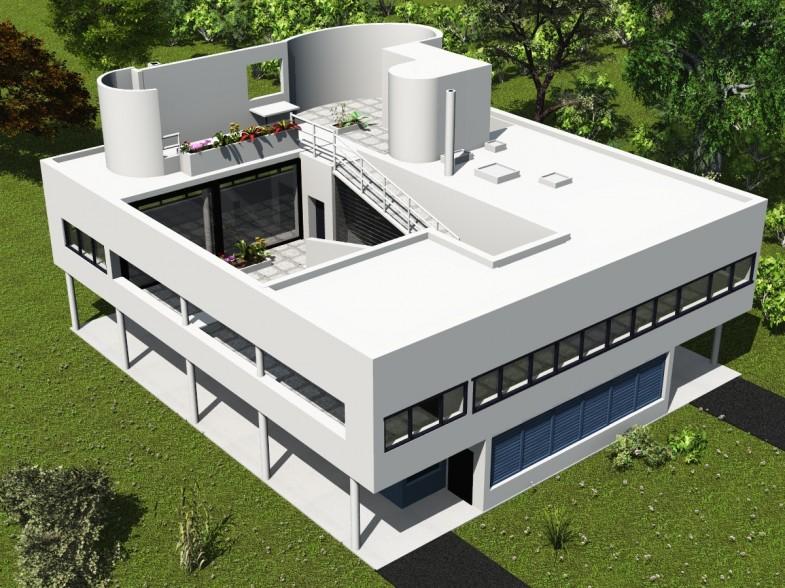 Принцип пяти. Архитектура Ле Корбюзье.