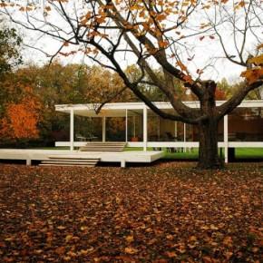 Farnsworth house воплощение простоты и гармонии