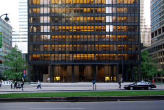 38 этажей Сигрем Билдинг