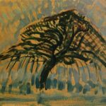 Study for Blue Apple Tree, 1908