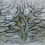 The Flowering Apple Tree, 1912. Пит Мондриан