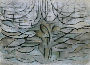 5 деревьев Пита Мондриана | The Flowering Apple Tree, 1912 by Piet Mondrian