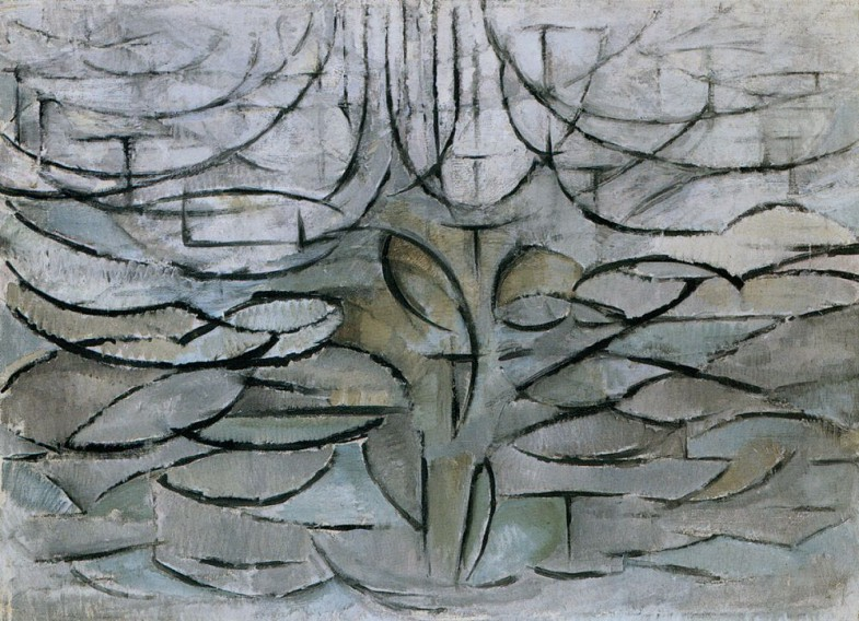 The Flowering Apple Tree, 1912. Пит Мондриан