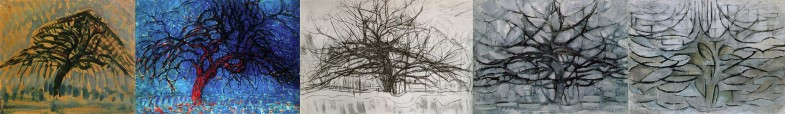5 деревьев Пита Мондриана | www.probauhaus.ru
