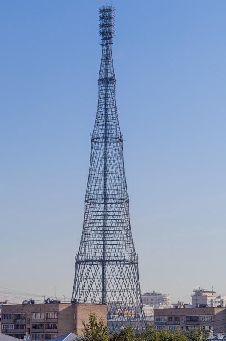 Шуховская башня. Радиосигналы из прошлого века_0