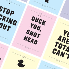 Ducking around posters