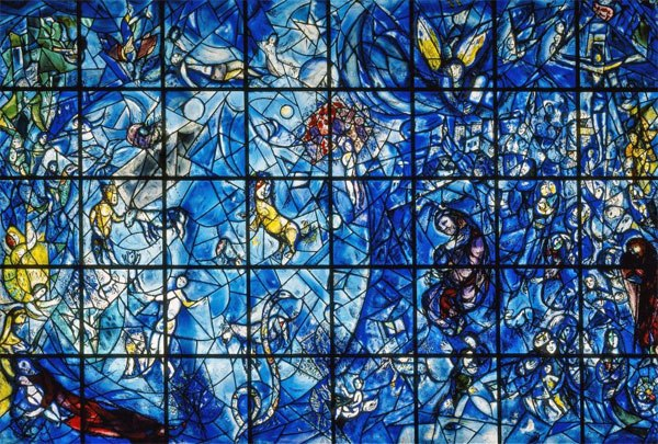 Зал Совета Безопасности, витраж Марка Шагала