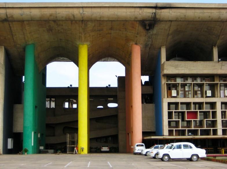 Город Чандигарх. Архитектура независимости 3