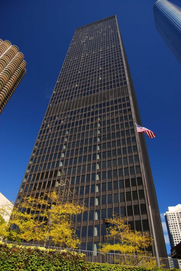 IBM Plaza. Дворец для ЭВМ_