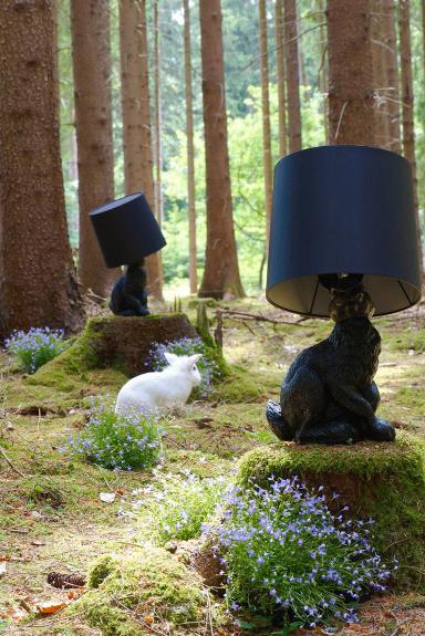 Кролик, несущий свет. Светильник Rabbit от Moooi 1