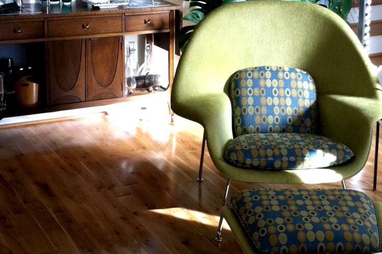 Сидеть удобно. Womb chair 8