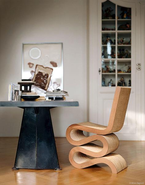 Простые линии Wiggle Side Chair| probauhaus.ru