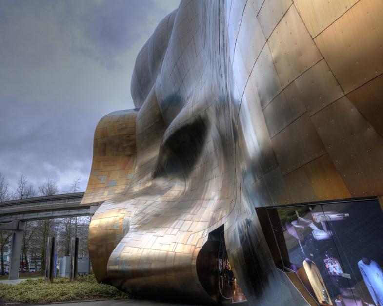Вне законов классической архитектуры. Experience Music Project от Фрэнка Гери | www.probauhaus.ru