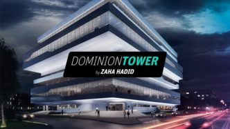 Динамическая архитектура Dominion Tower и Zaha Hadid Architects