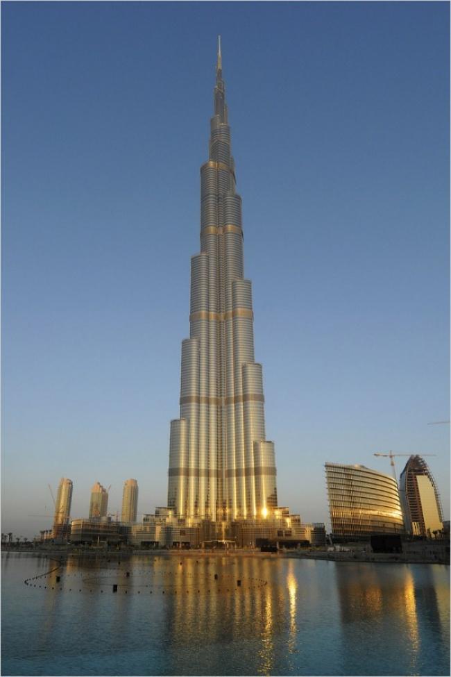 Роскошь Дубаи и небоскреб Бурдж-Халифа | www.probauhaus.ru