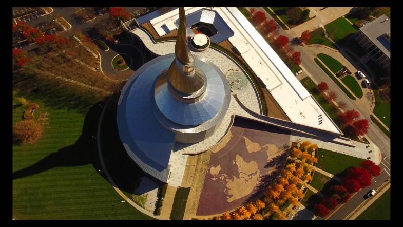 Бионическая архитектура. Храм Independense Temple  от Архитектора Джо Абата | www.probauhaus.ru
