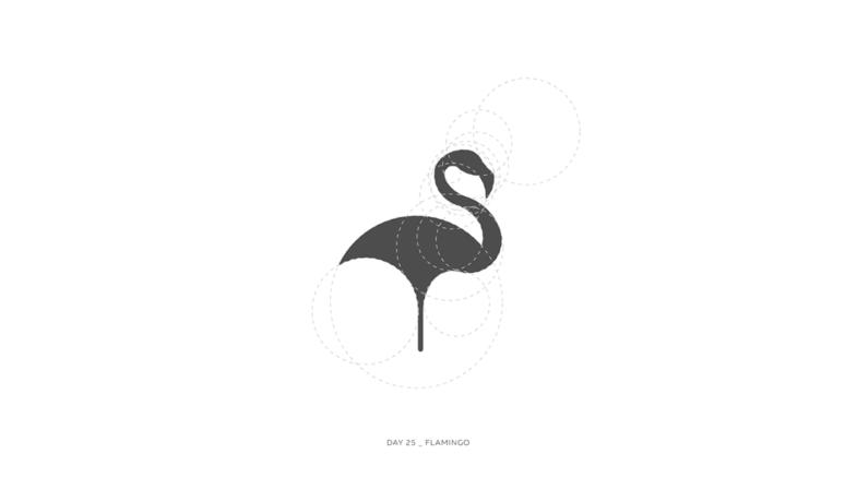 Золотое сечение_фламинго