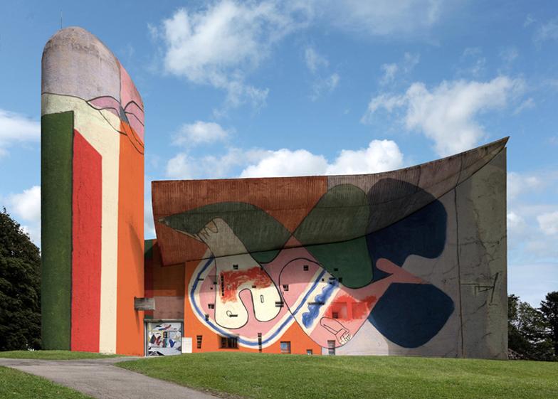 Графити Корбюзье и паломничество к модерну | www.probauhaus.ru