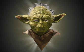 Полиальная графика. Yoda