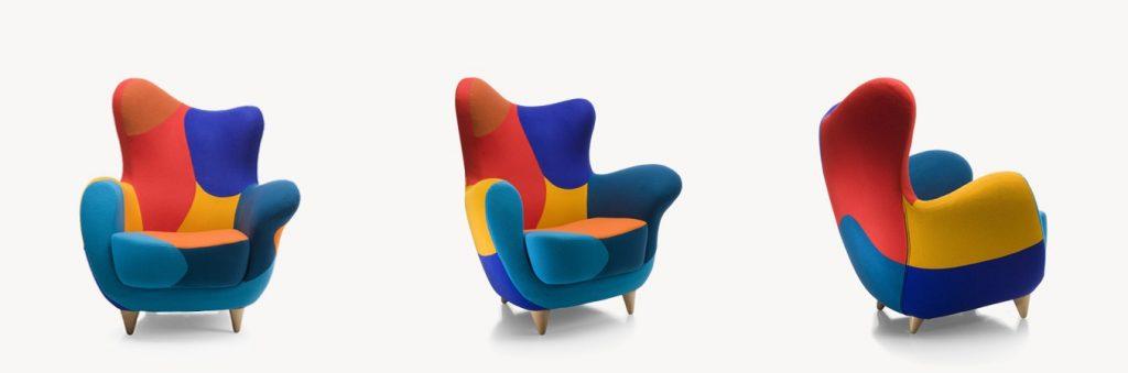 Запрещённый приём. Кресло Alessandra от Moroso