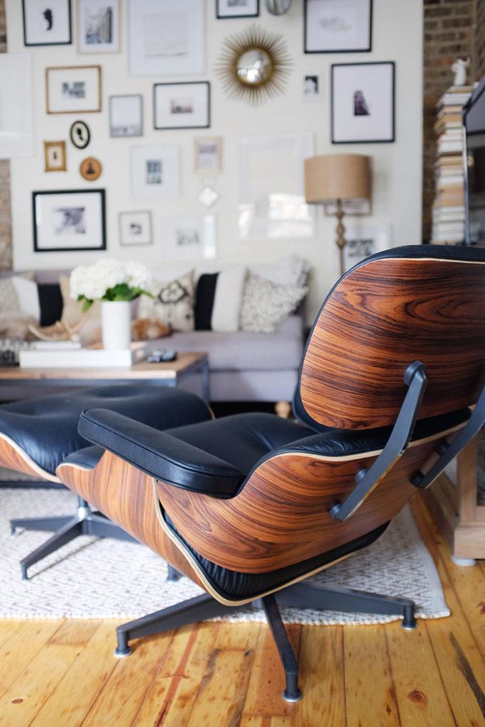 Роскошный Eames Lounge chair | www.proBauhaus.ru