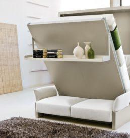 Кровать Bauhaus с диваном A-side