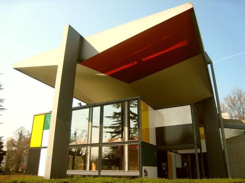 Фадас здания в стиле неопластицизм. История возникновения абстрактного искусства || proBauhaus.ru