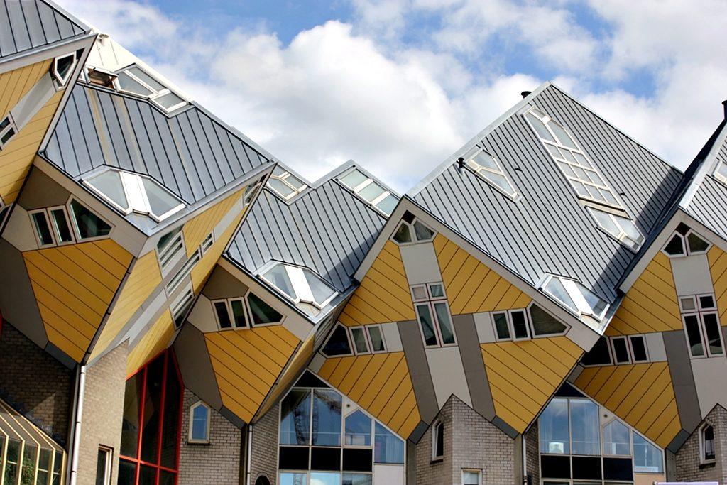 Фасады домов квартала Кифхок. Неопластицизм. История возникновения абстрактного искусства || proBauhaus.ru