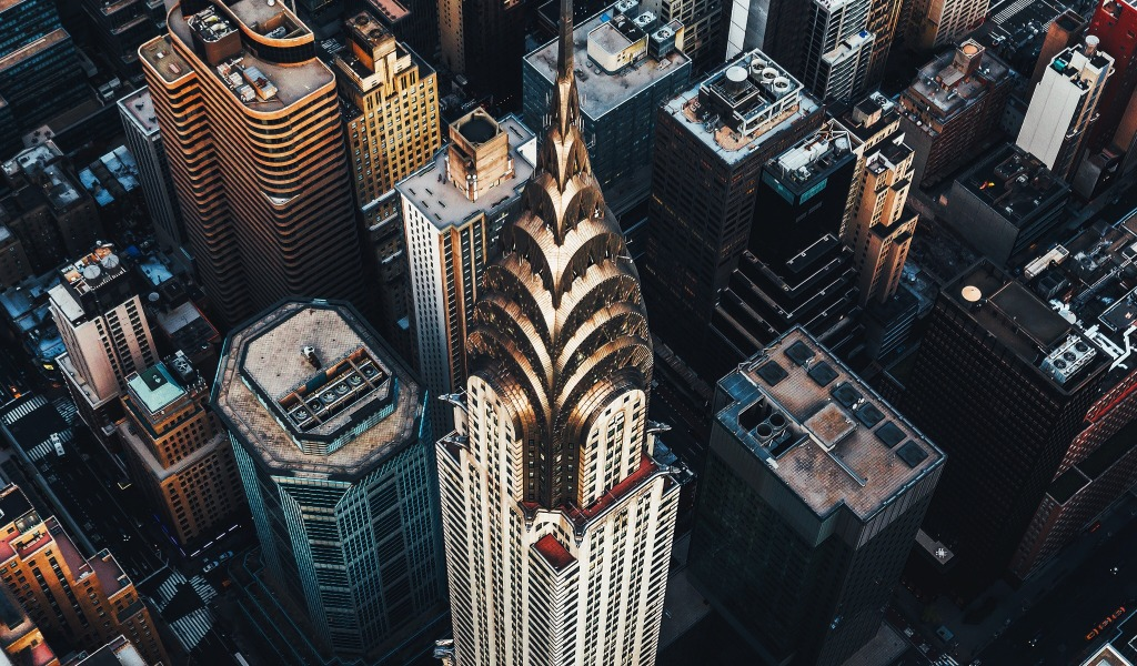 Архитектура Нью-Йорка. Ар-деко и Крайслер билдинг
