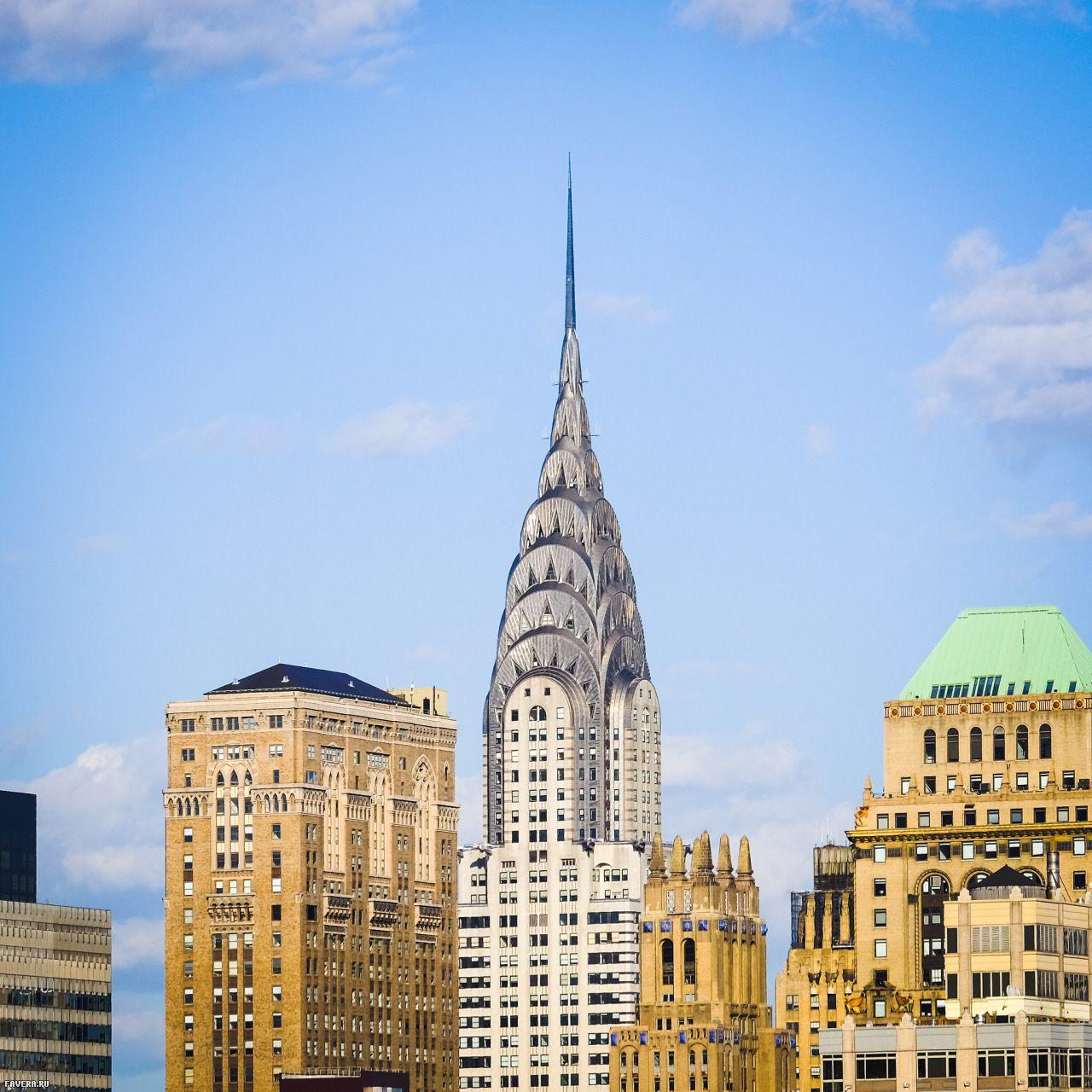 Архитектура Нью-Йорка. Ар-деко и Крайслер билдинг | proBauhaus.ru