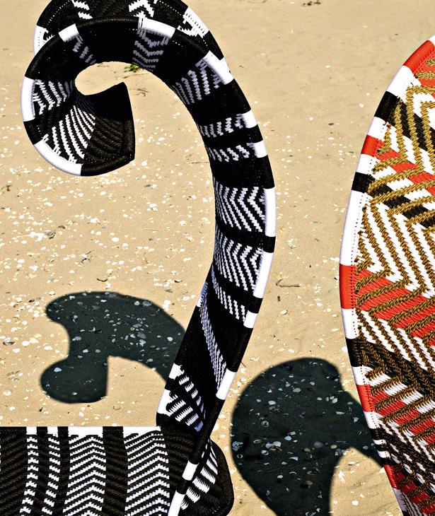 Этнические мотивы от Moroso. Кресло Shadowy