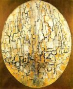 Oval Composition (Trees), 1913