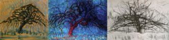 5 деревьев Пита Мондриана