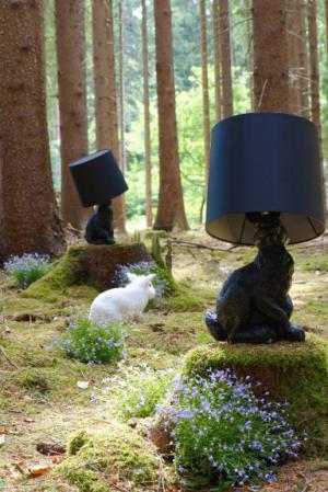 Кролик, несущий свет. Светильник Rabbit lamp от Moooi
