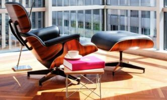 Роскошный Eames Lounge chair