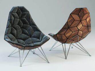 Обними меня! 5 Tiles Chair от Jonas Søndergaard Nielsen || www.probauhaus.ru