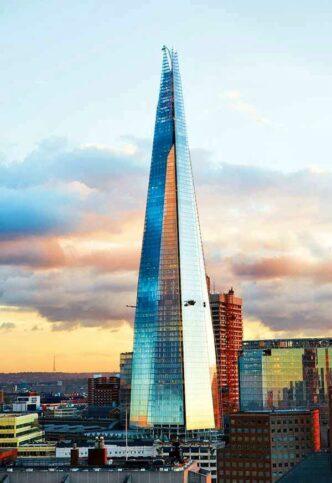 Стеклянная пирамида Лондона. Небоскреб The Shard | proBauhaus.ru