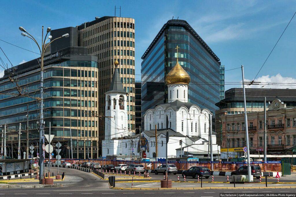 Ритм города и небоскребы на Белой Площади | proBauhaus.ru