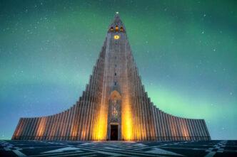 Вулканы и  Неоготика.  Современная архитектура  Исландии